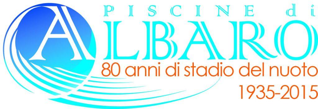 Piscine Albaro - logo_80anni copia_arancio