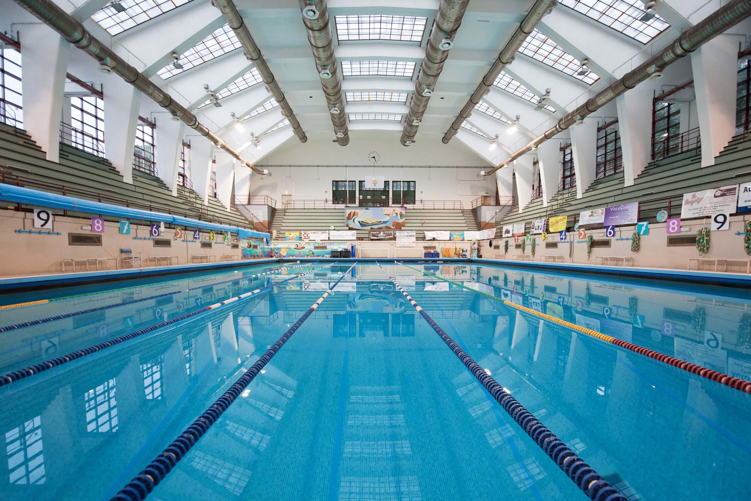 Home piscine di albaro for Piscina quinto genova